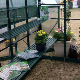 GREENHOUSE 8X12 DOUBLE DOOR GLASS