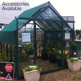 GREENHOUSE 10X12 DOUBLE DOOR POLY CARBONATE