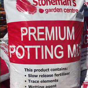 POTTING MIX - STONEMANS PREMIUM 25LT