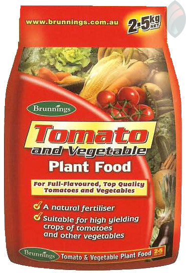 FERTILISER TOMATO AND VEG 2.5KG