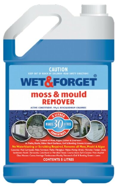 WET AND FORGET 5LT