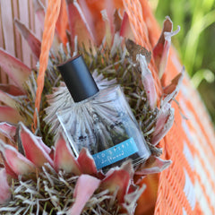 Wild Spirit Driftwood Perfume contains natural essential oils