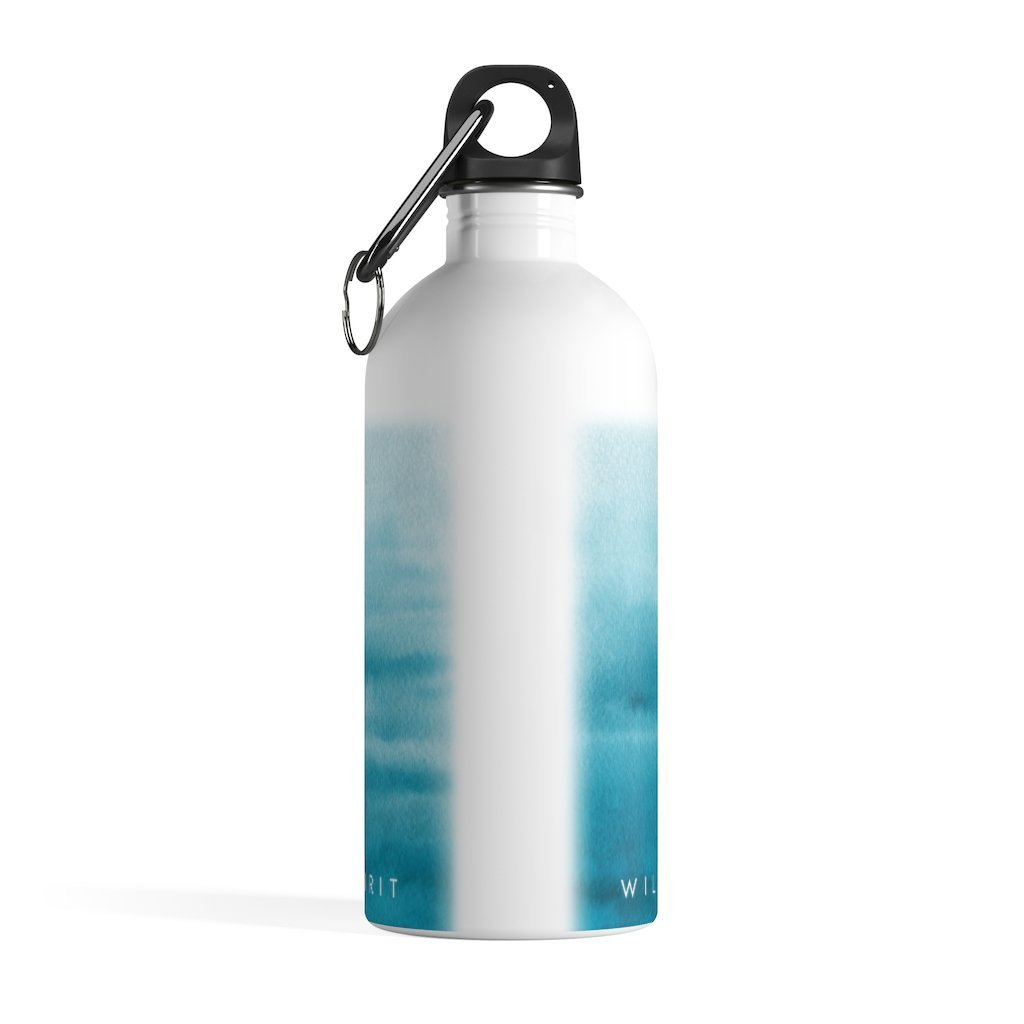 Driftwood Stainless Steel Water Bottle, 14 oz - Wild Spirit
