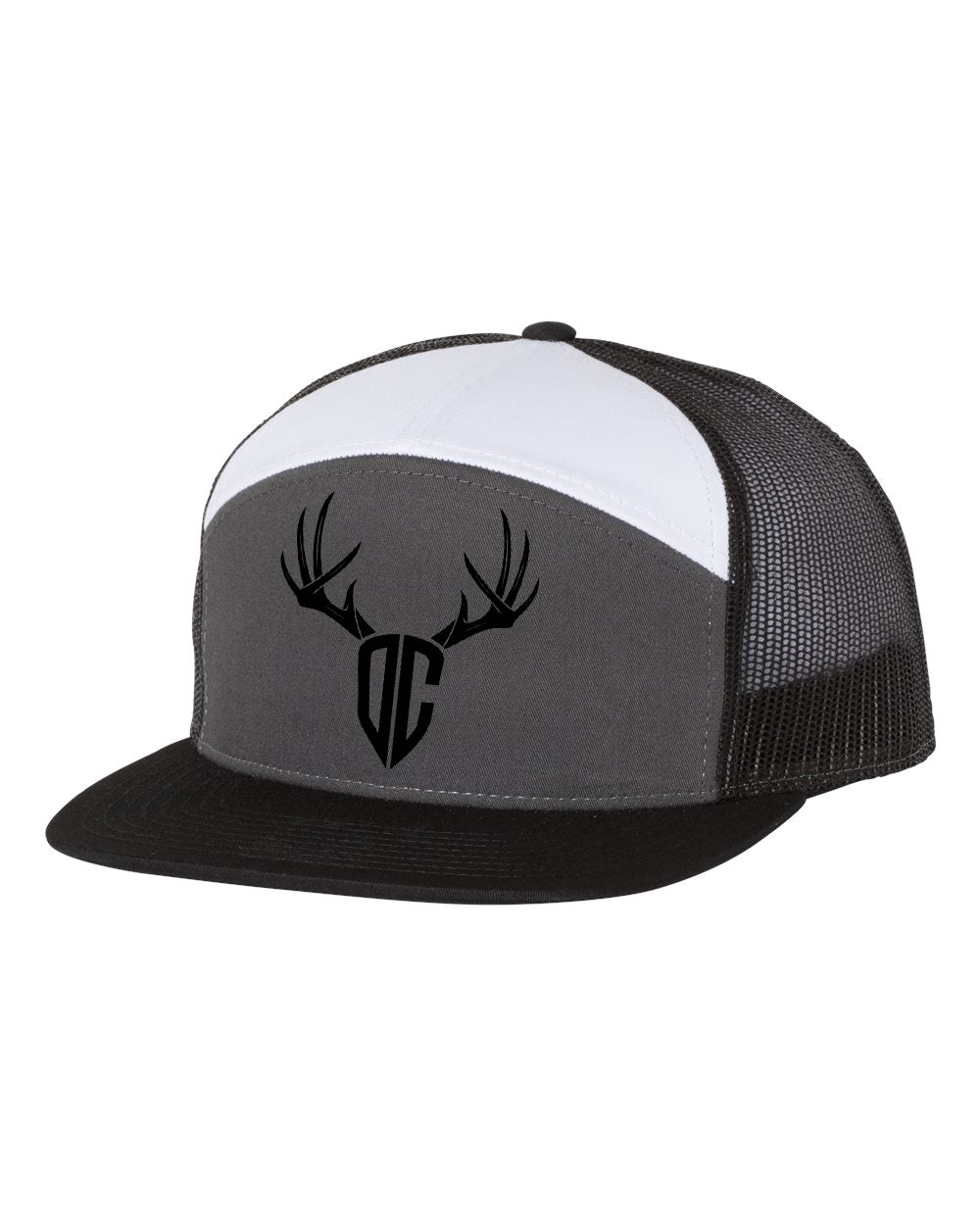 DCO Antlers - 7 Panel Trucker Hat