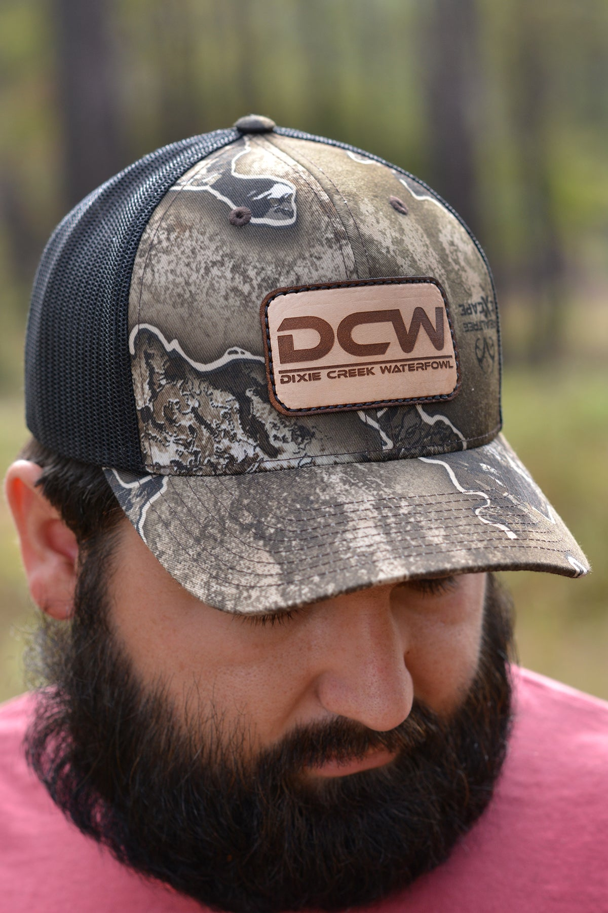 DCW Realtree EXCAPE With Leather Patch