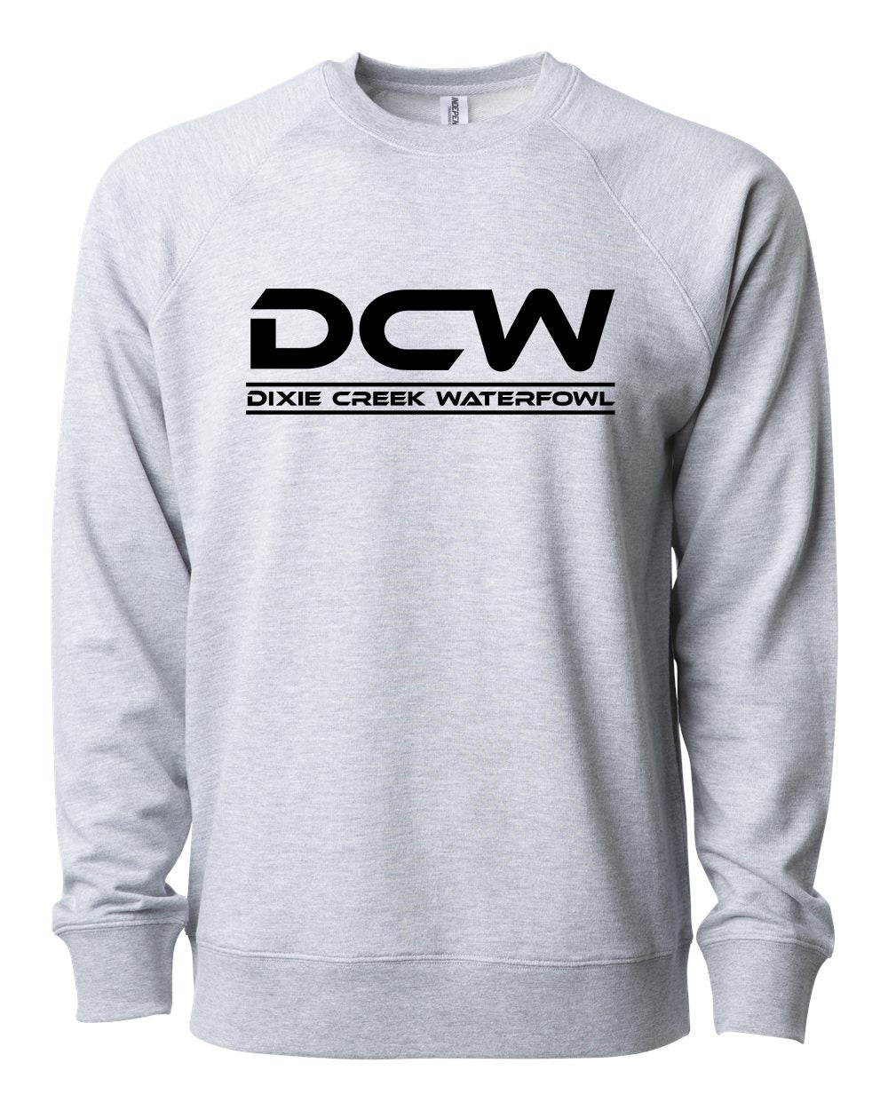 DCW Full Front - Lightweight Loopback Terry Crew