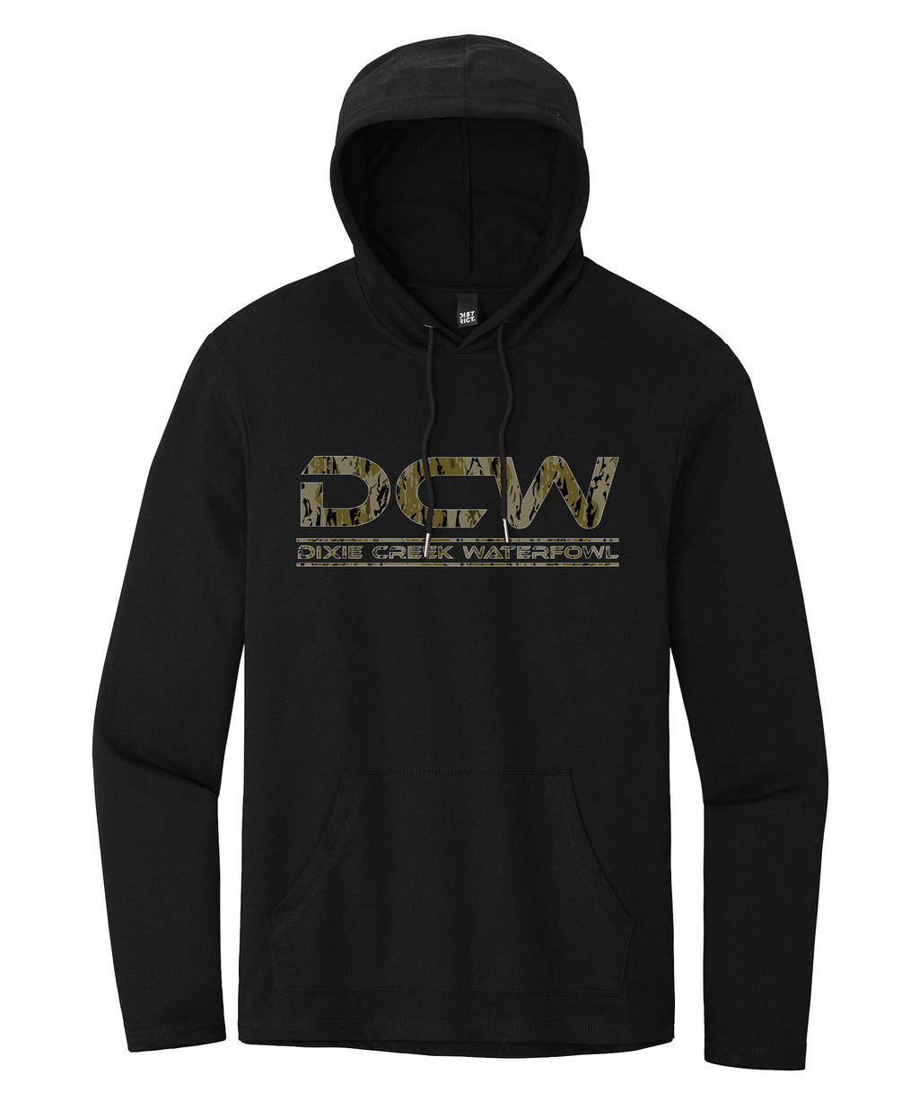 DCW Oak Creek Camo Lightweight Hoodie