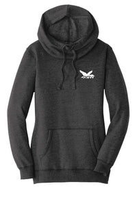 Dixie Creek Mallard - Ladies Lightweight Fleece Hoodie
