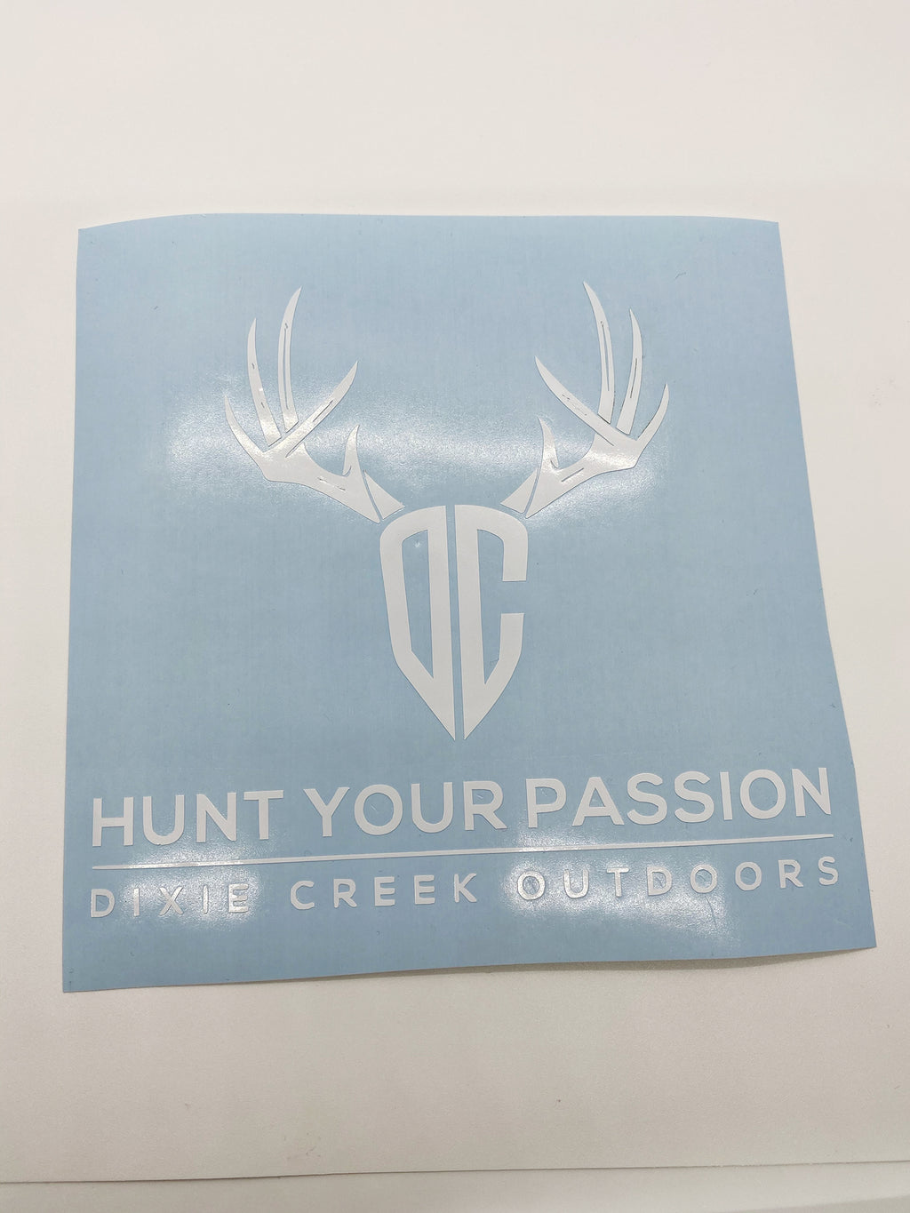 Hunt Your Passion Decal
