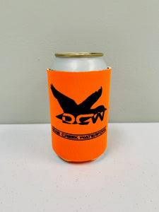 DCW Orange Koozie
