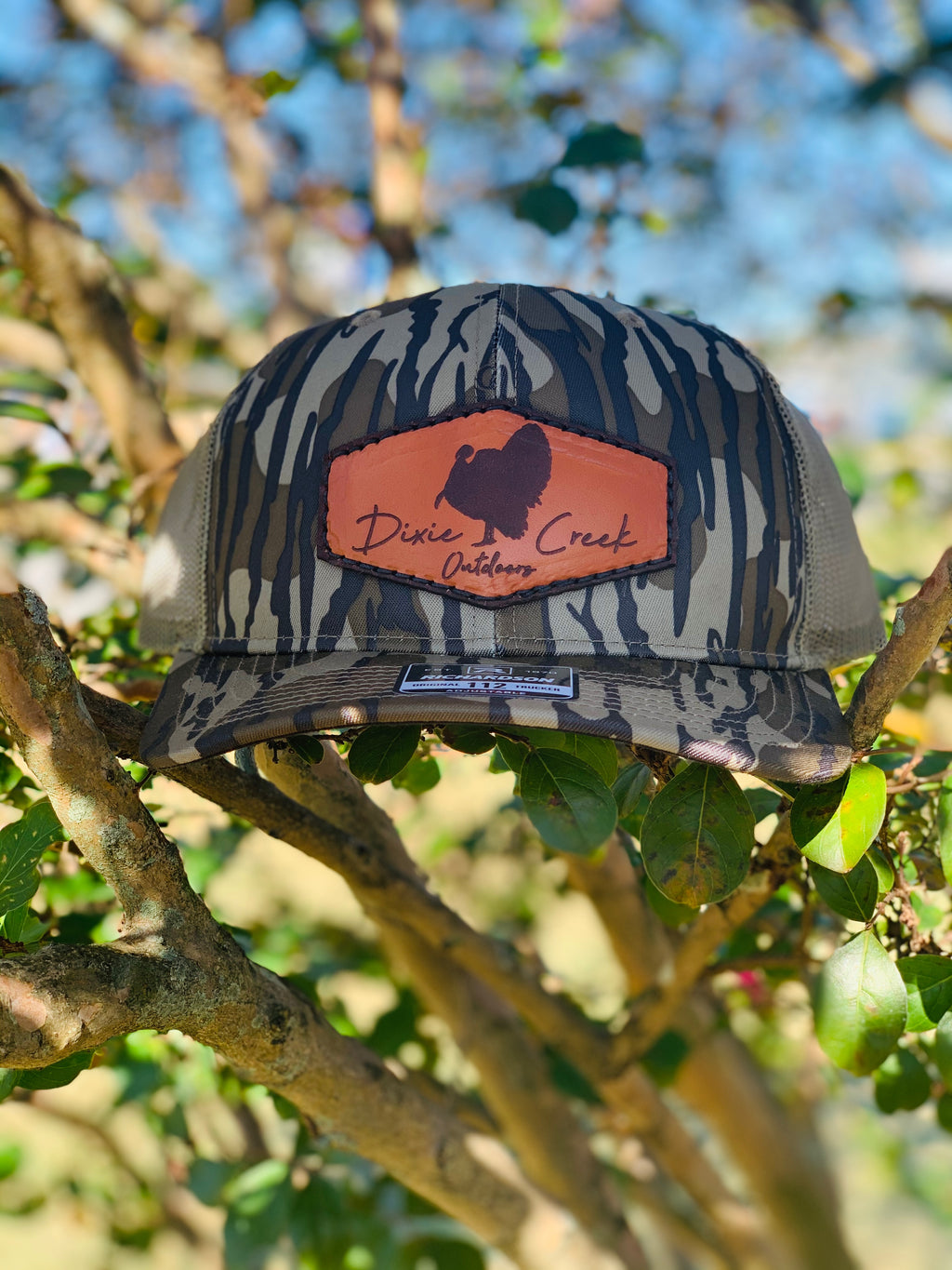 Full Strut Bottomland Patch Hat - Loden