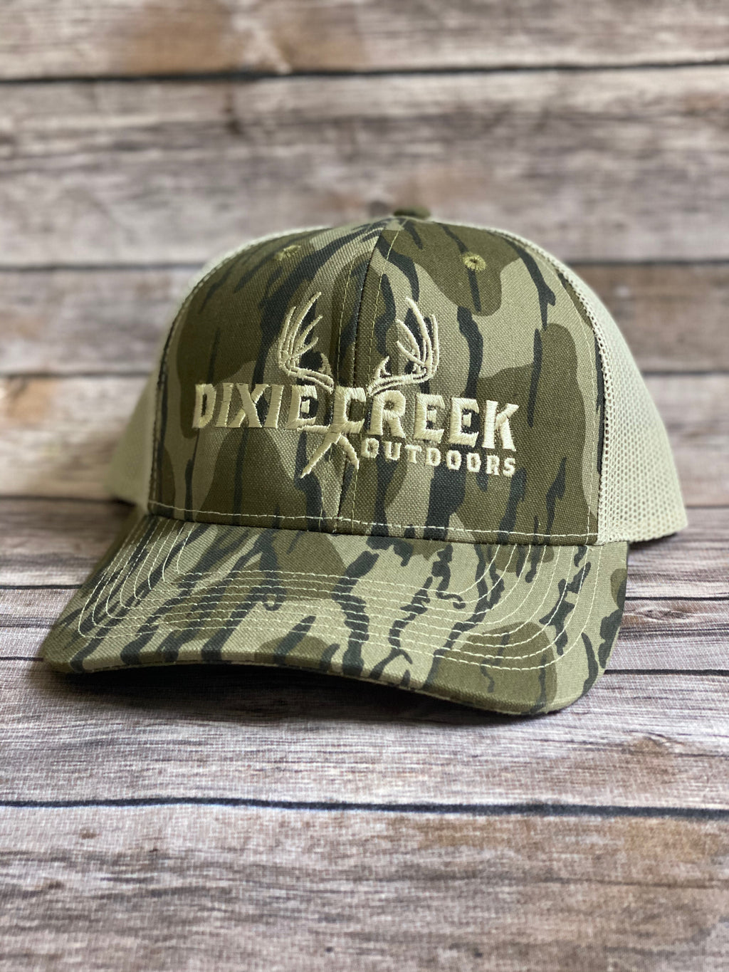 Dixie Creek Outdoors Mossy Oak Bottomland Hat