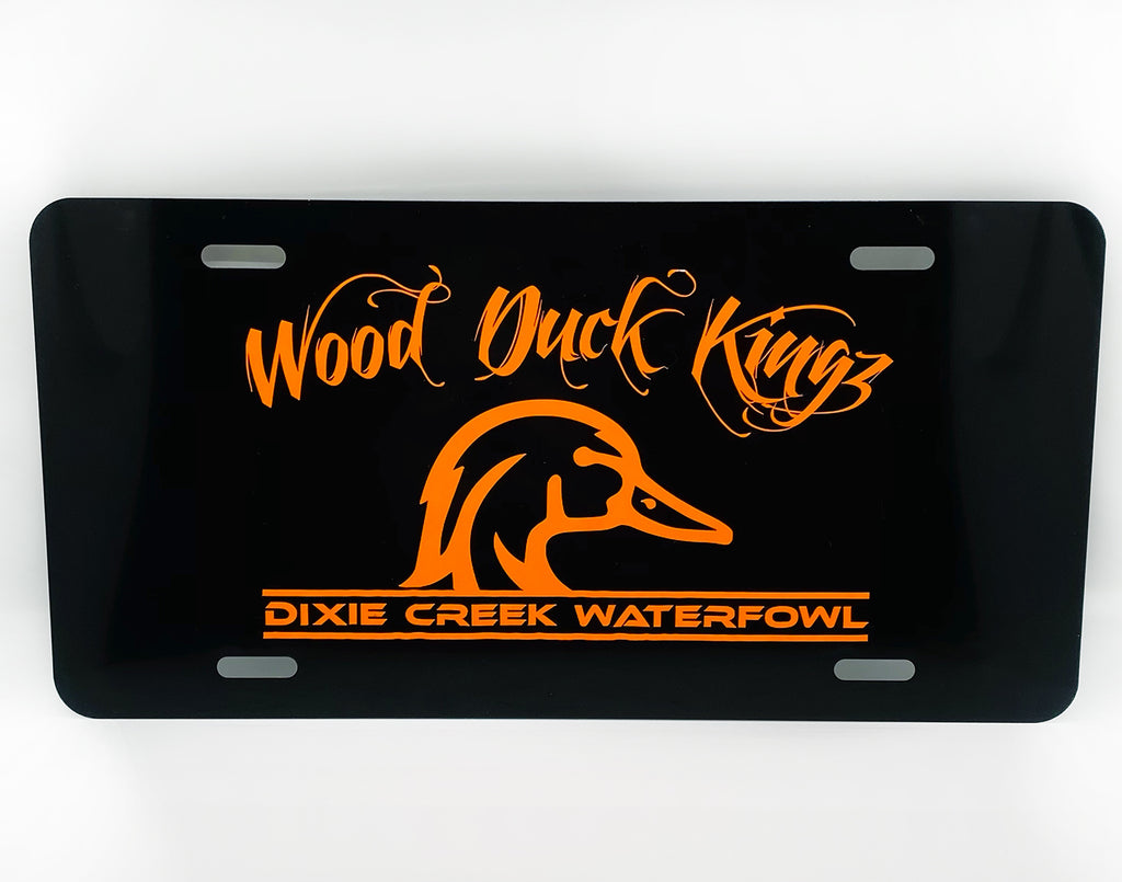 Wood Duck Kings Car Tag