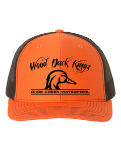Wood Duck Kings - Orange/Black