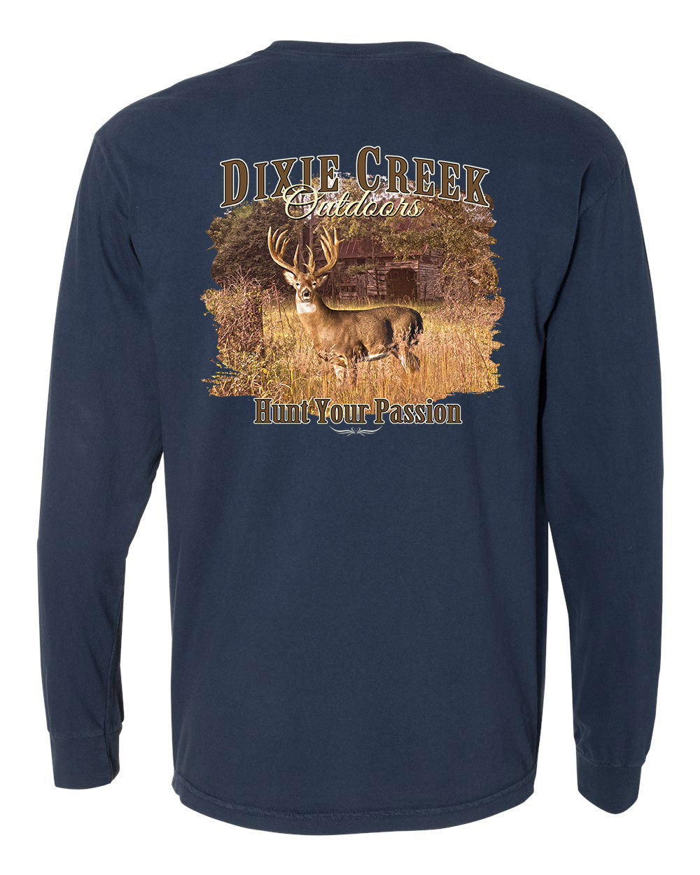 LS Comfort Colors Pocket Tee - DCO Whitetail