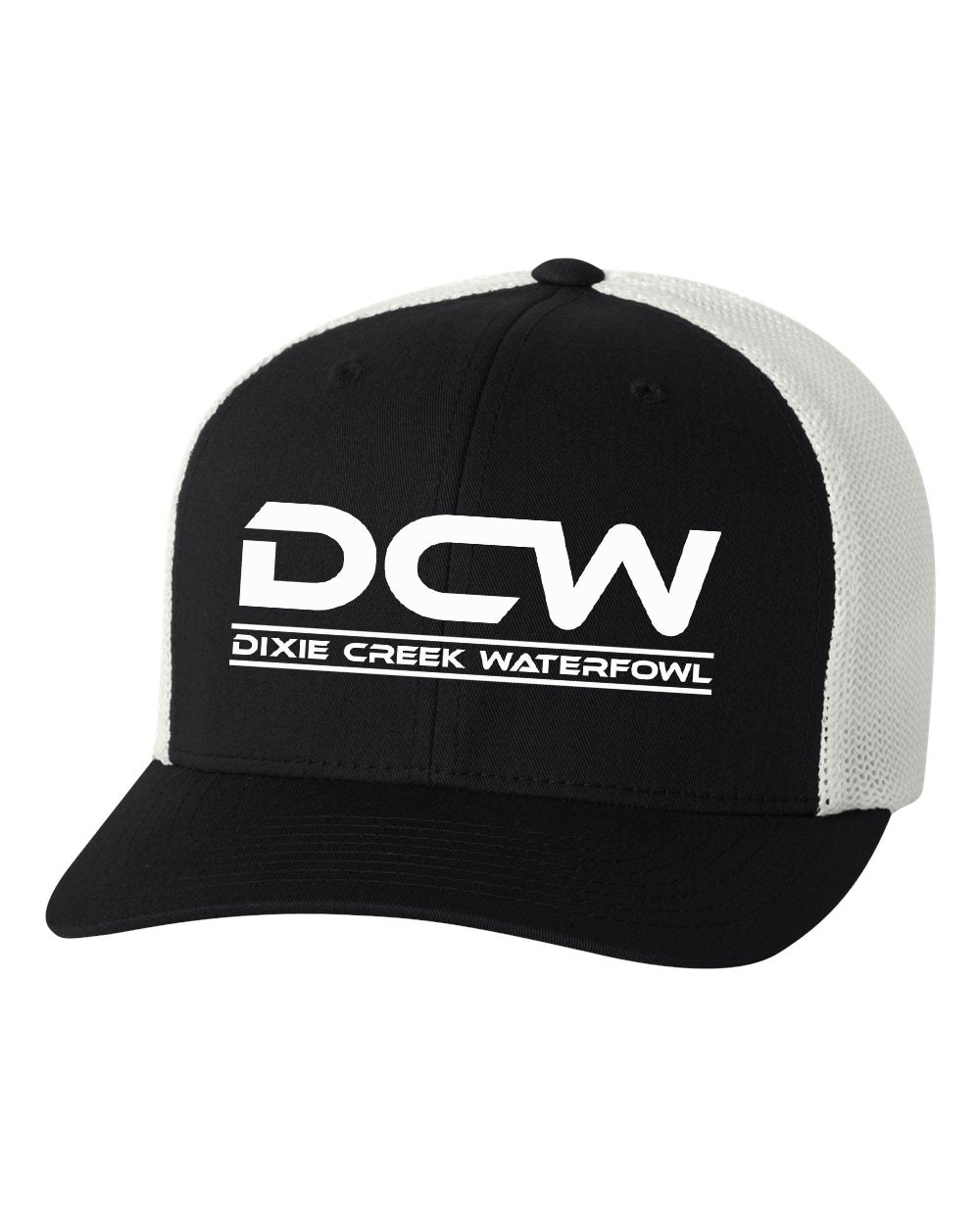 DCW Flexfit Hat - White Logo