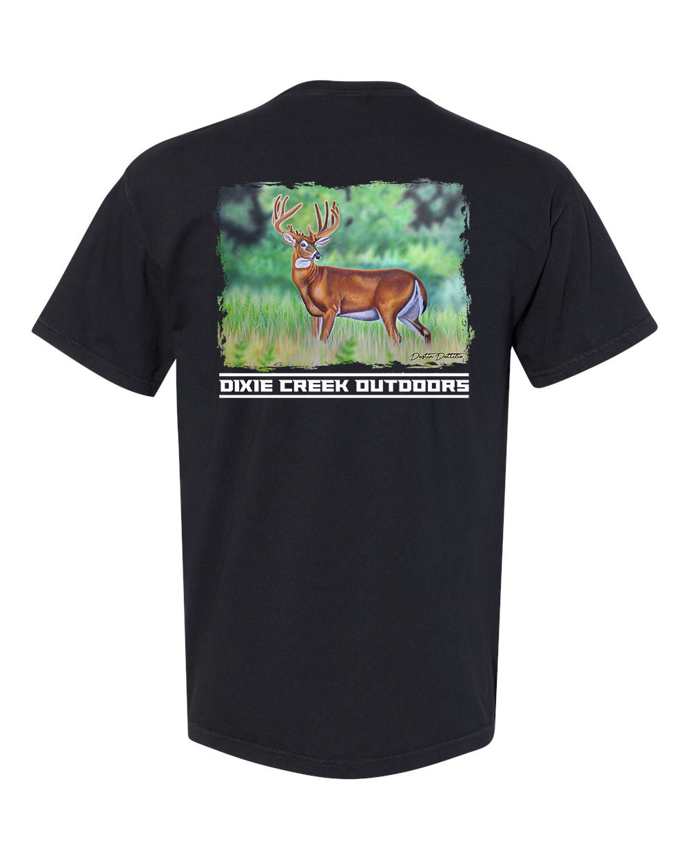 Velvet Buck - Comfort Colors Pocket Tee