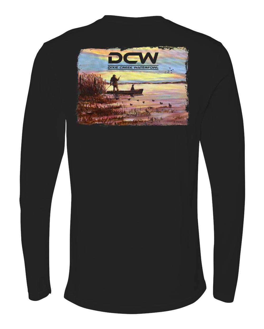 Sunset - Black Long Sleeve