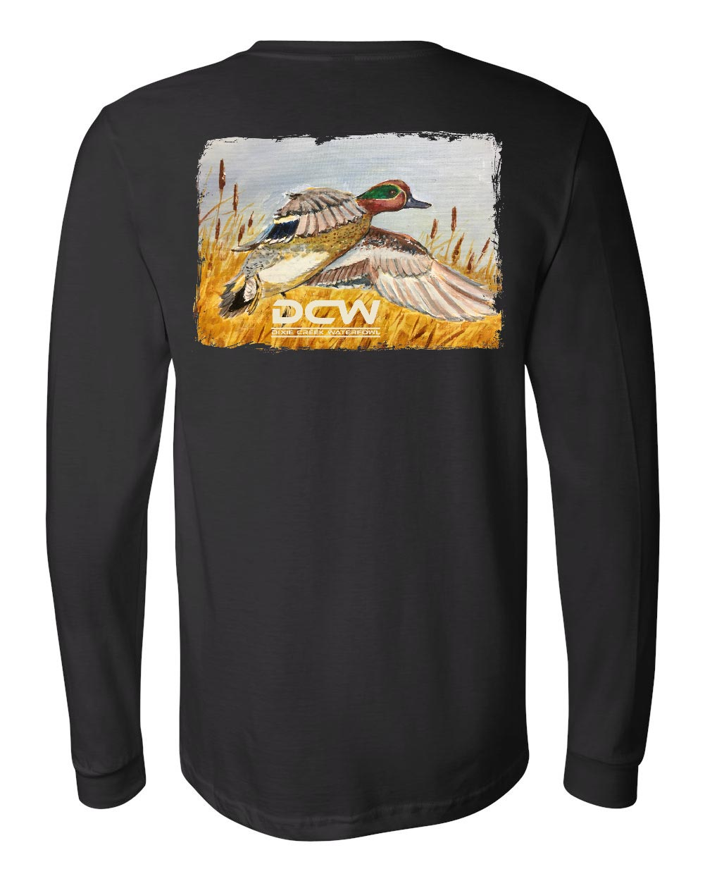 Green Wing Express - Black Long Sleeve