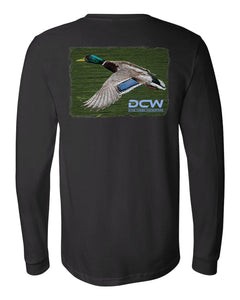DCW Drake - Black Long Sleeve