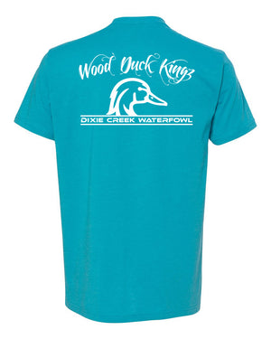 Wood Duck Kings - White Print