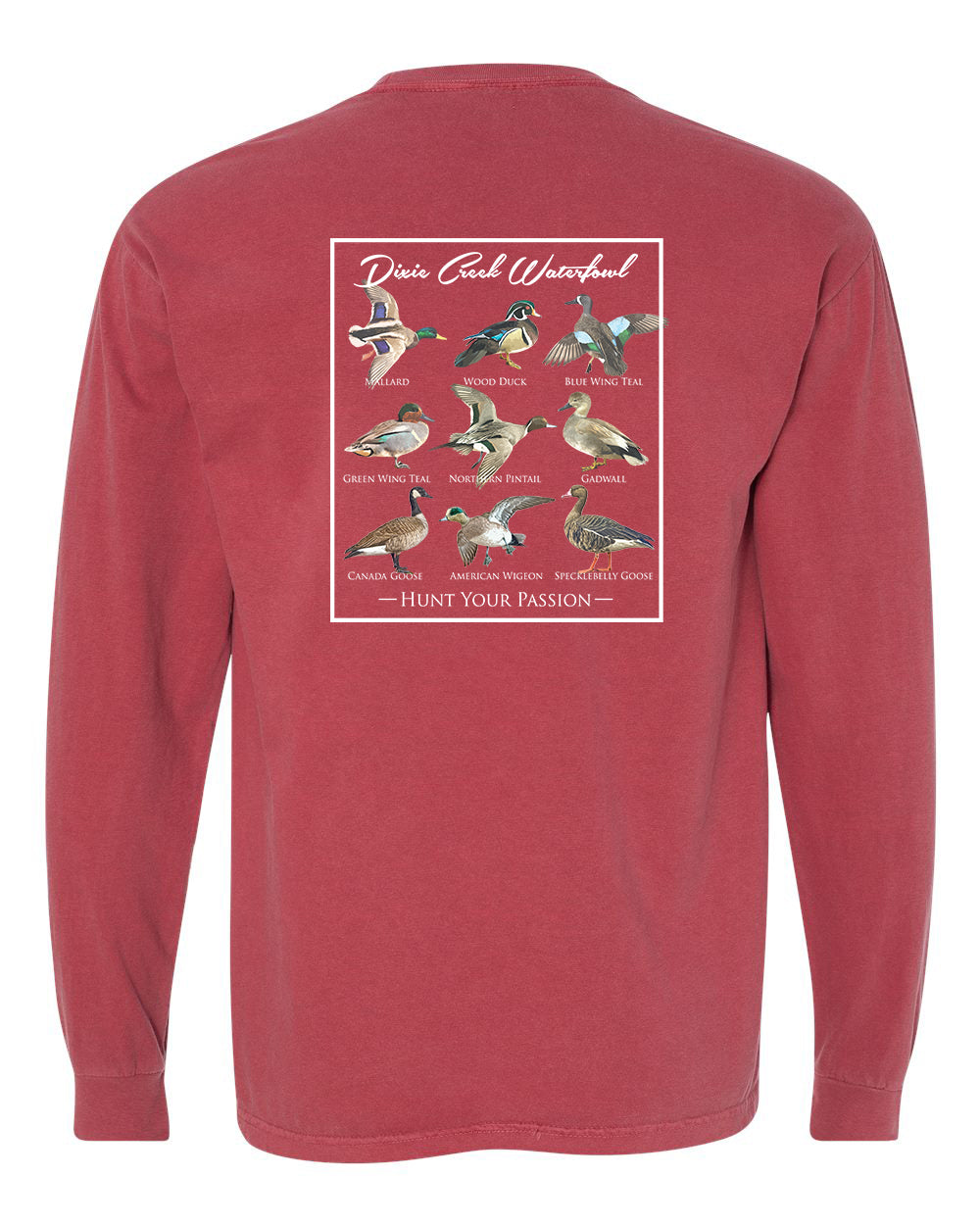 LS Comfort Colors Pocket Tee - DCW Duck Chart