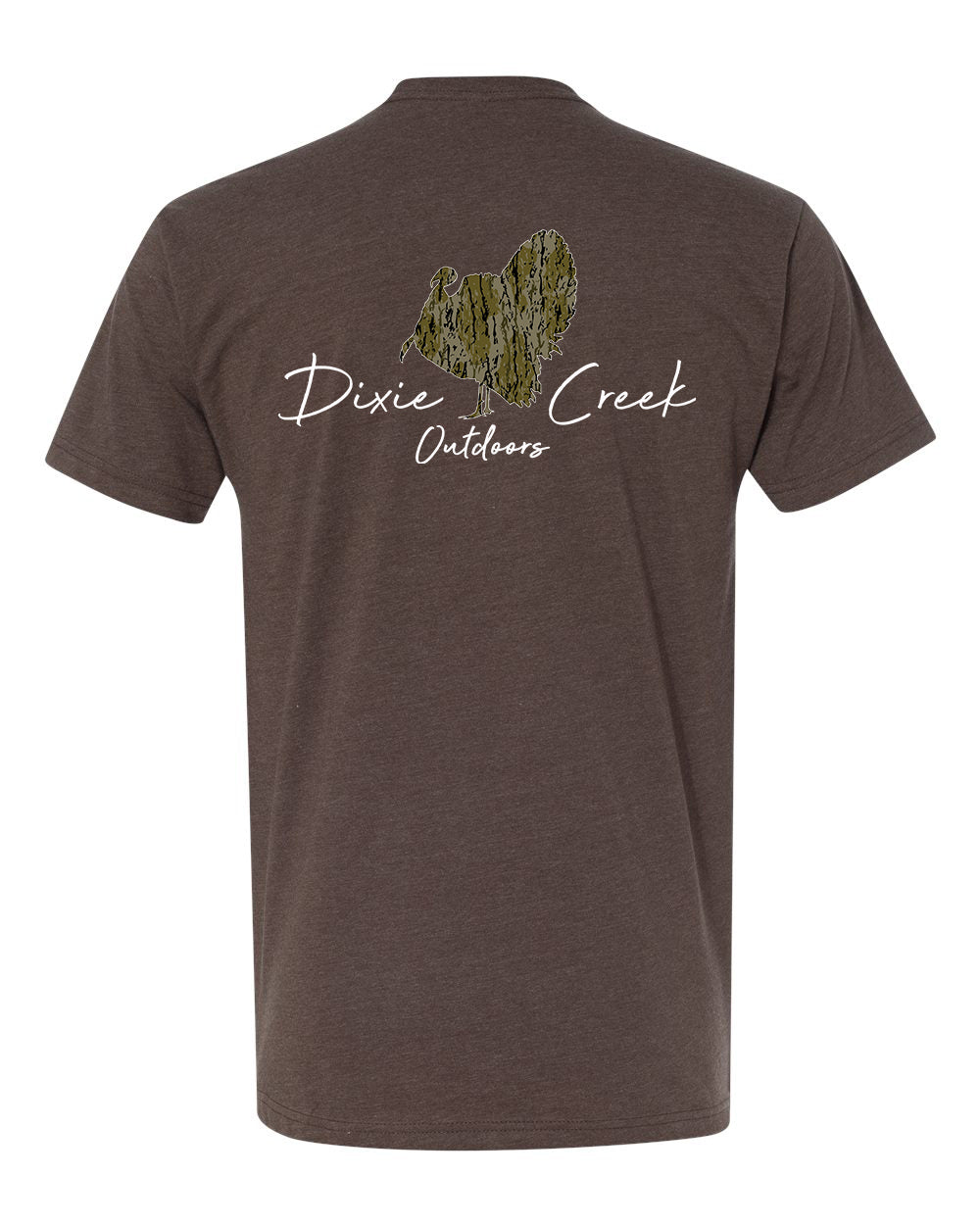 Oak Creek Camo - Full Strut  T-Shirt
