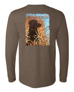 Eyes On The Sky - Heather Brown Long Sleeve