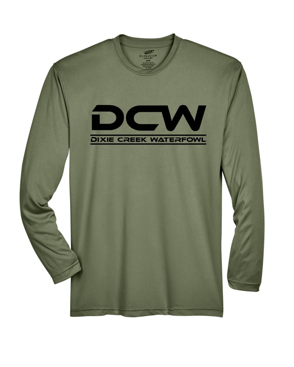 Military Green Long Sleeve - Dri-Fit - Base Layer