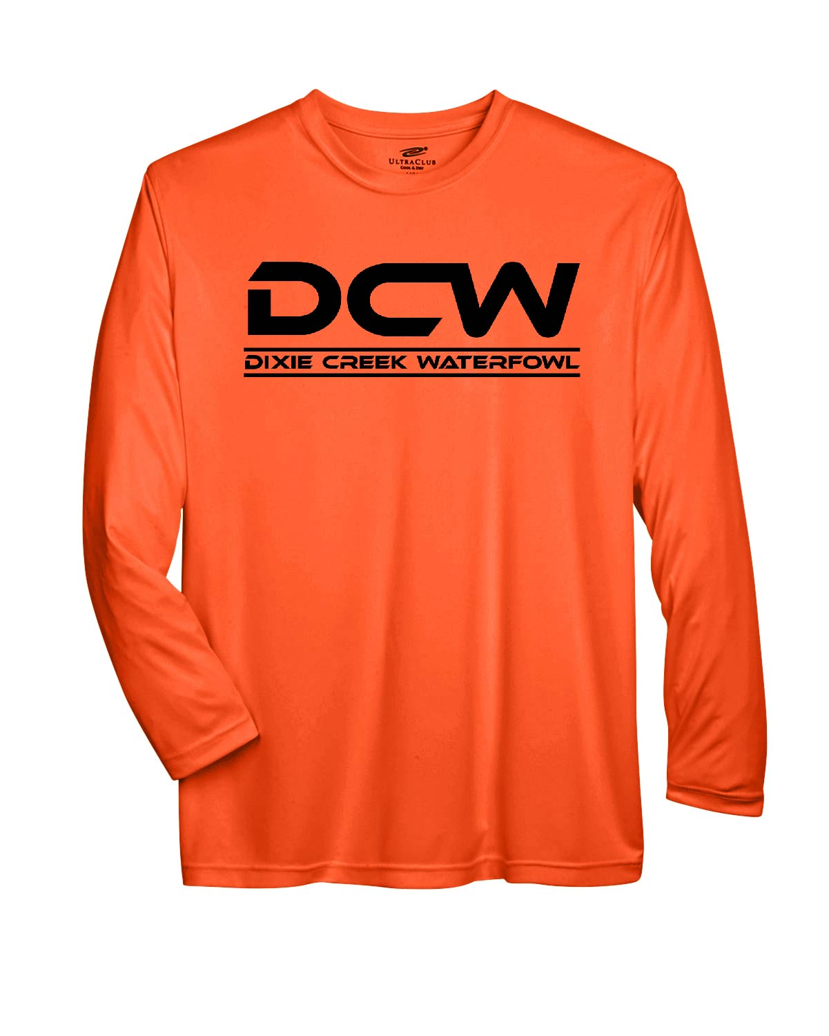 Safety Orange Long Sleeve - Dri-Fit - Base Layer