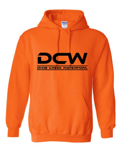 DCW Safety Orange Hoodie