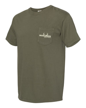 Comfort Colors Pocket Tee - Hunt Your Passion