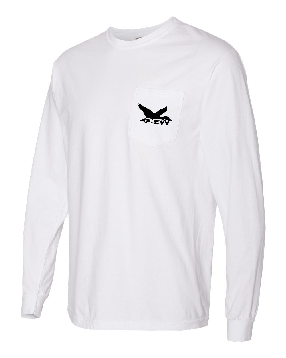 LS Comfort Colors Pocket Tee - DCW Duck Stamp