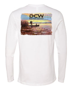 Sunset - White Long Sleeve