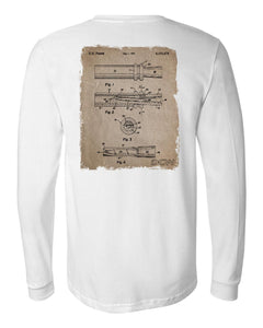 DCW Call - White Long Sleeve