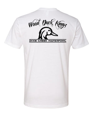 Wood Duck Kings - Black Print