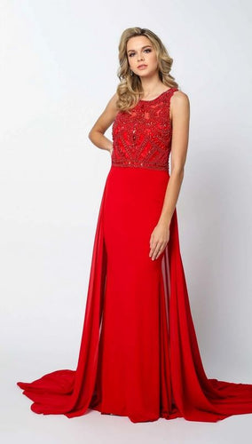 Beaded Bodice Dress With Chiffon Overskirt From Juliet - Stage 9 Secrets - Dress