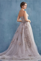 Tulle Ballgown with Embroidered Embellishments