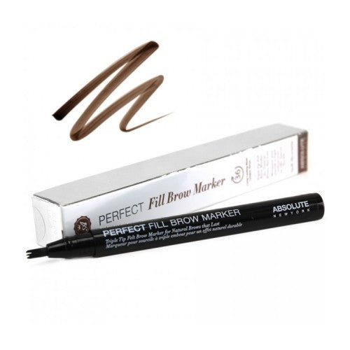 ABSOLUTE Perfect Fill Brow Marker - Stage 9 Secrets - Cosmetics