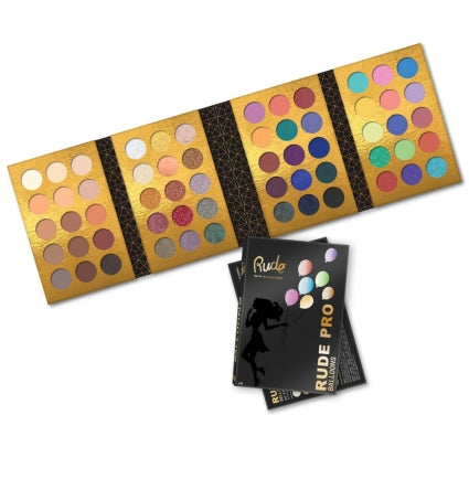 RUDE PRO Balloons - 60 Color Eyeshadow Palette - Stage 9 Secrets - Cosmetics