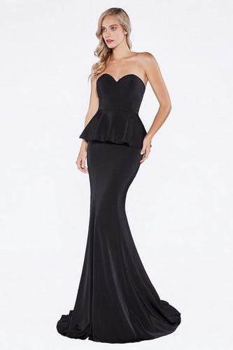 Satin Mermaid Gown with Sweetheart Neckline - Stage 9 Secrets - Dress