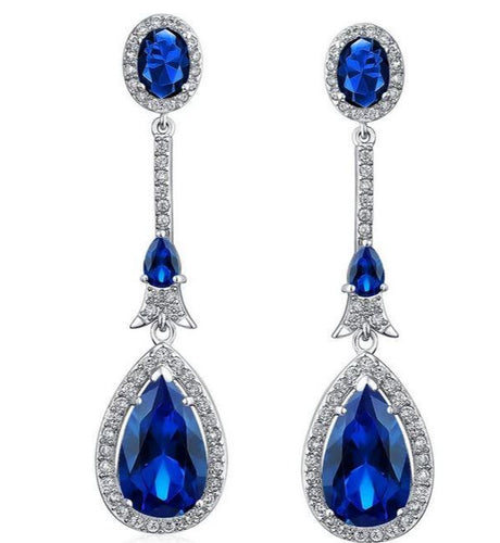 Teardrop Chandelier Earrings - Stage 9 Secrets - Jewellery