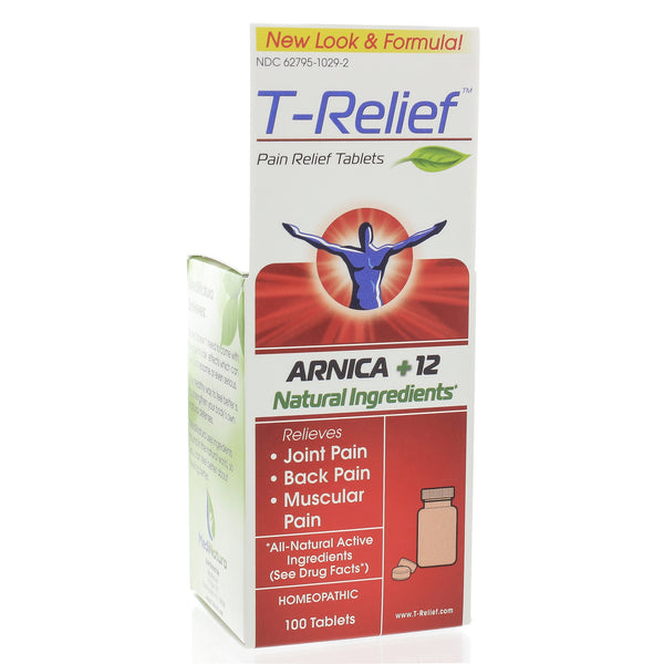 "T-Relief Pain Relief 100 Tablets (formerly ""Traumeel"")"