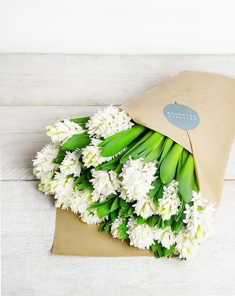 White Hyacinth Bunch