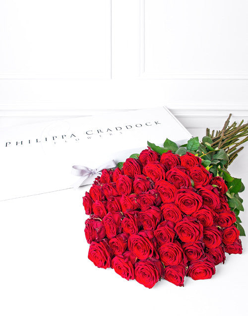 Fifty Red Roses