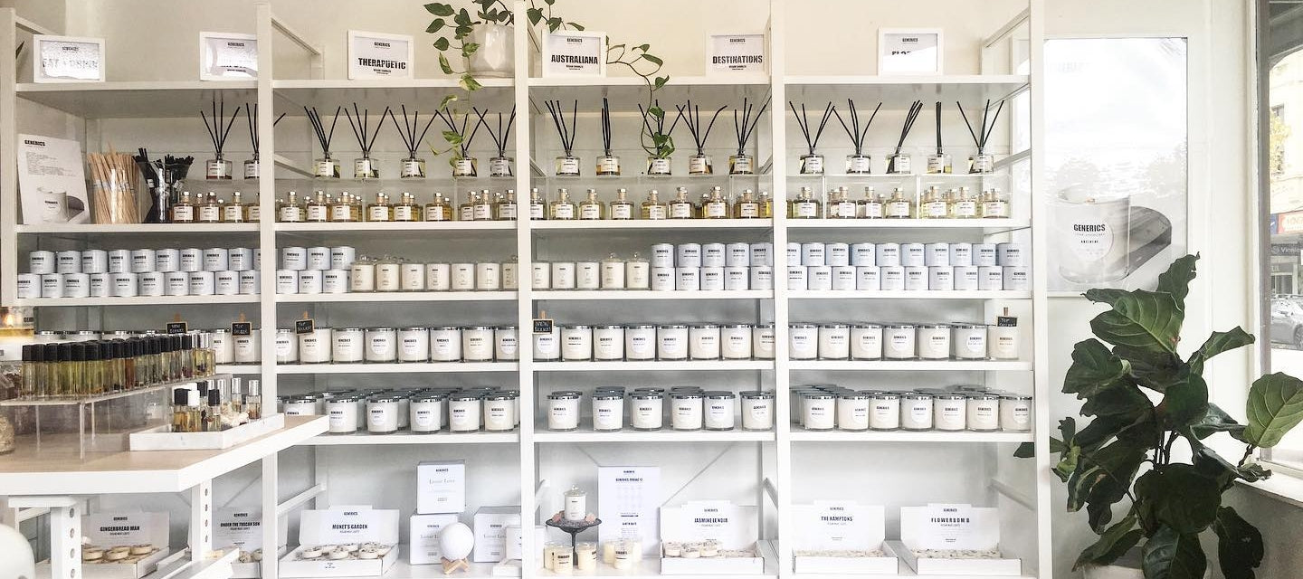 Generics Urban Apothecary refillable vegan candle online perth australia