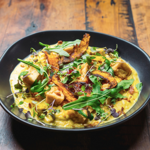 Yellow Pumpkin Curry (Vegan)