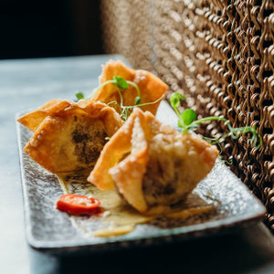 Vault 21 Famous Sticky Beef Wontons