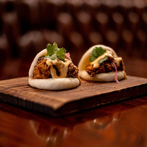 Vault 21 Crispy Chicken Steamed Buns