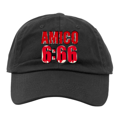 Zac Amico 6:66 Logo Dad-Hat